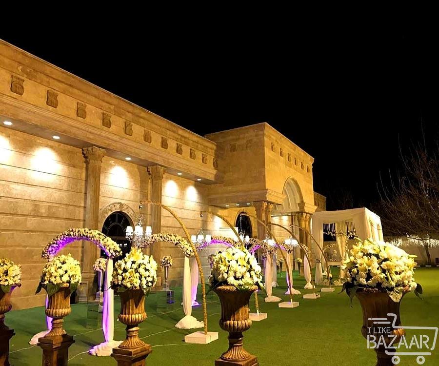 عمارت لوکس عروسی در تهران
