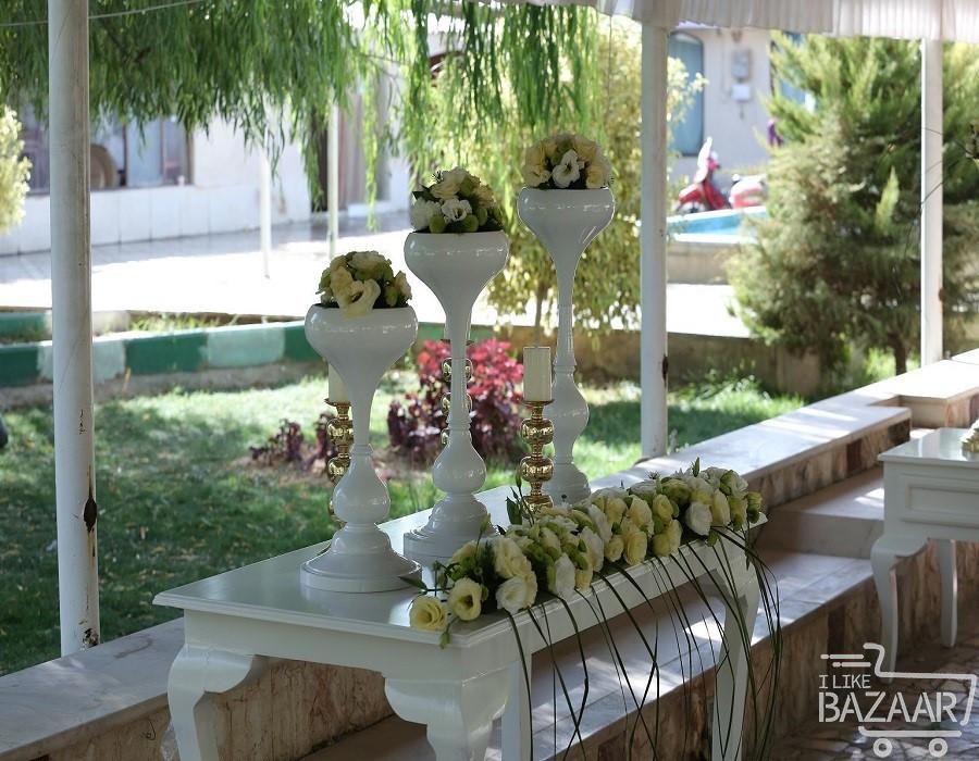 دیزاین باغ تالار فضای آزاد عروسی