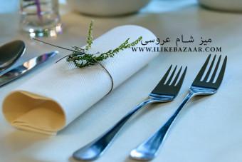 میز شام عروسی های مجلل چگونه است