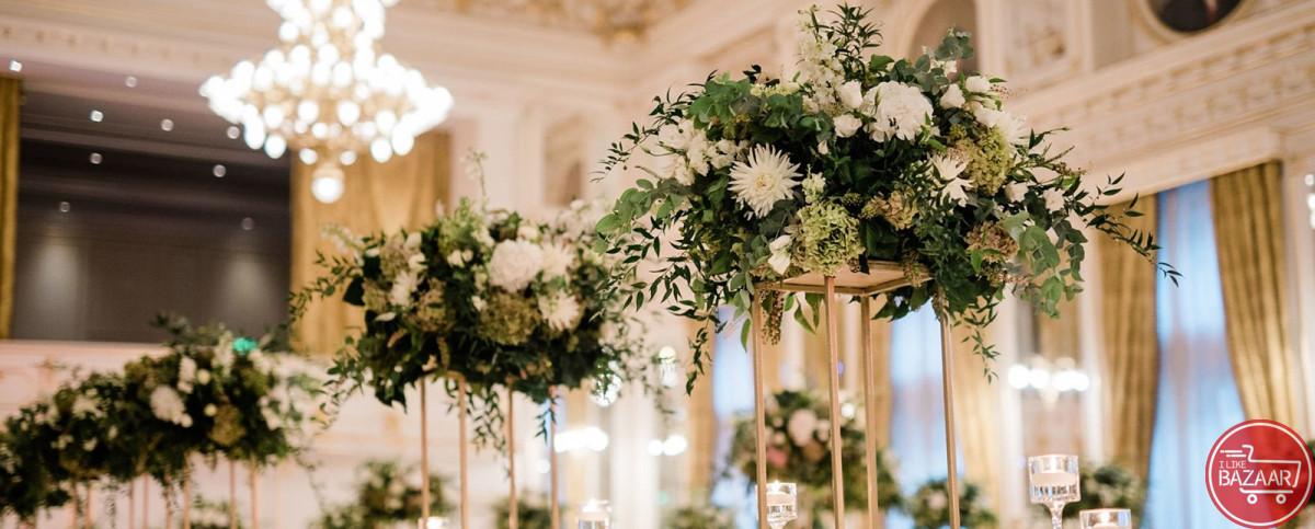 تصویر شماره اجرا و طراحی محوطه باغ تالار برای عروسی
