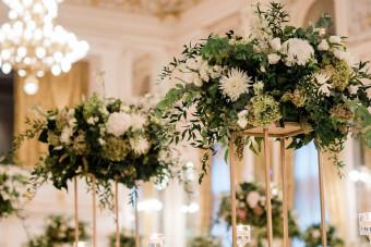 اجرا و طراحی محوطه باغ تالار برای عروسی