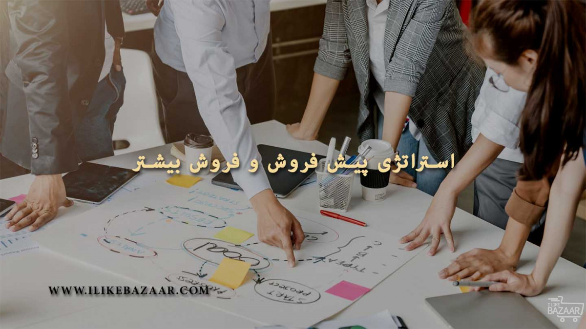 تصویر شماره استراتژی پیش فروش محصولات و فروش بیشتر